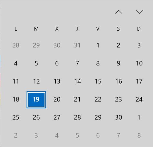 Calendario aplazamiento de impuestos