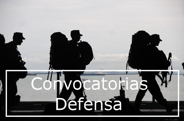Procesos selectivos de personal del Ministerio de Defensa