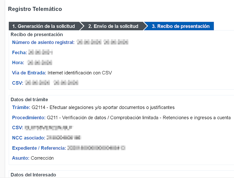 Registro telemático